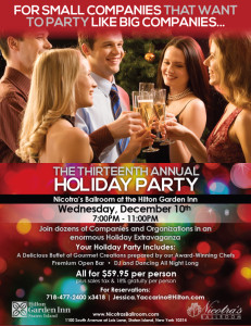 The Thirteenth Annual Holiday Party